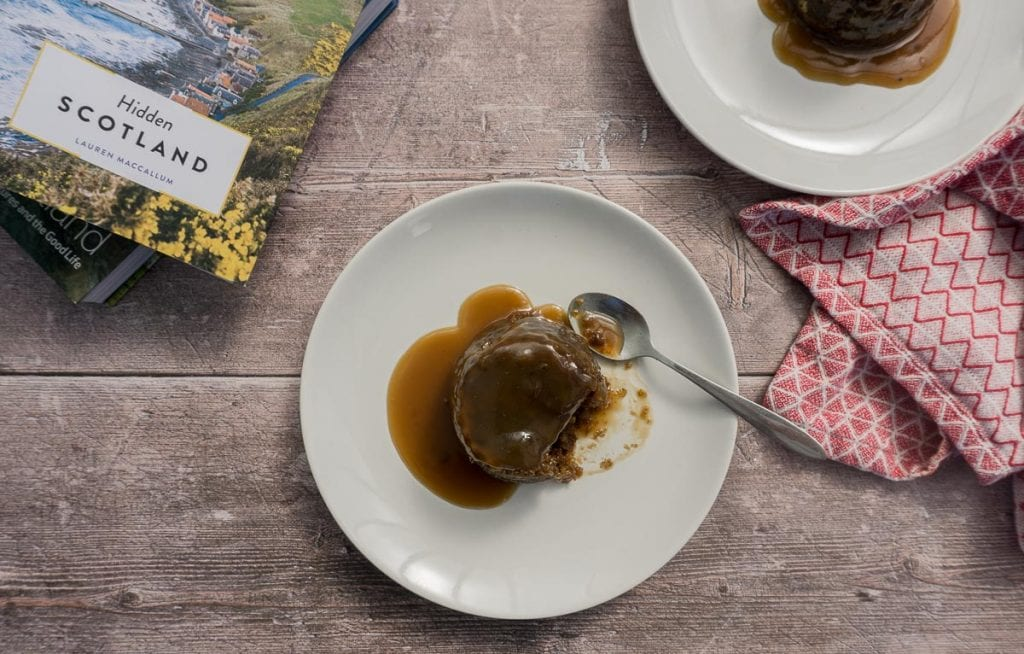 Sticky Toffee Pudding, Scotland Book and tea towel