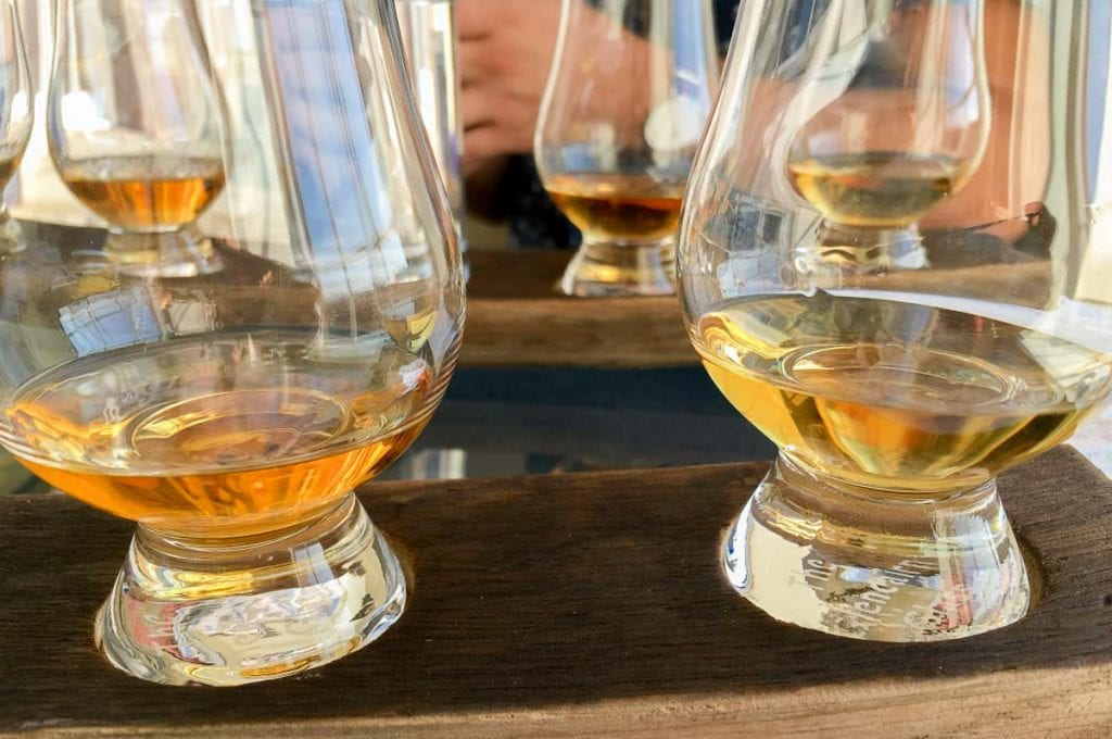 Scottish Whisky or Scotch tasting at the Scotch Whisky Experience