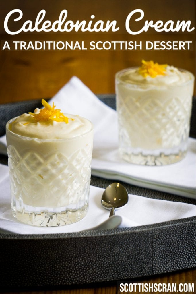 Caledonian Cream Recipe - Traditional Scottish Dessert Pin