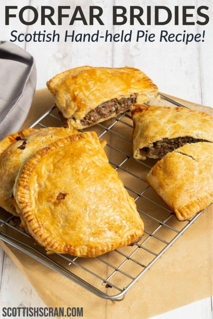 Forfar Bridies - Scottish Hand-held Pie Recipe