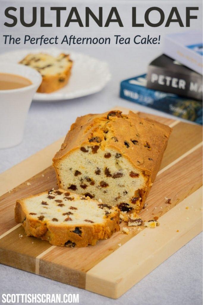 How to Make Sultana Loaf Cake Pin