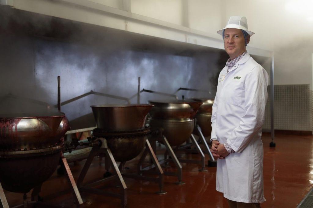 Martin Grant at Mackays Factory