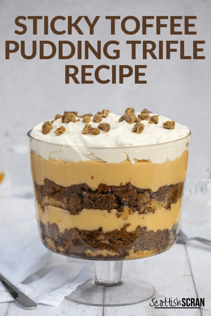 Sticky Toffee Pudding Trifle Pin