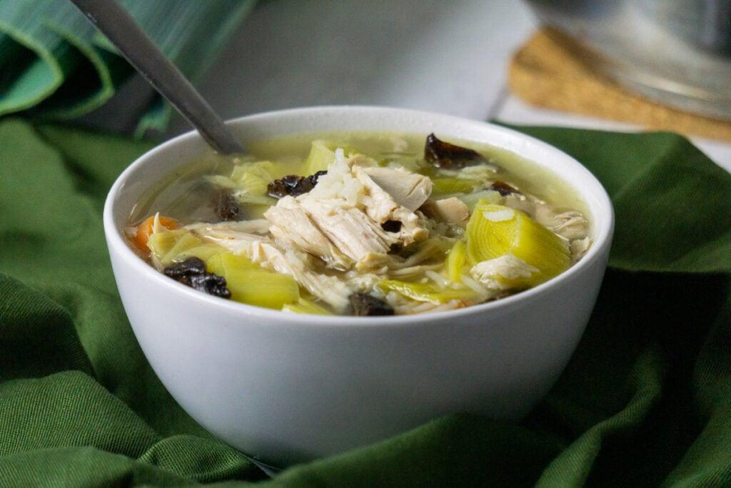 Cock-a-Leekie Soup Recipe
