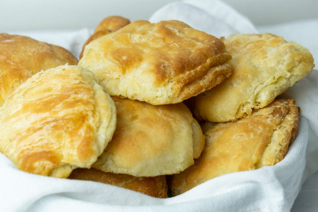 Butteries in a bowl