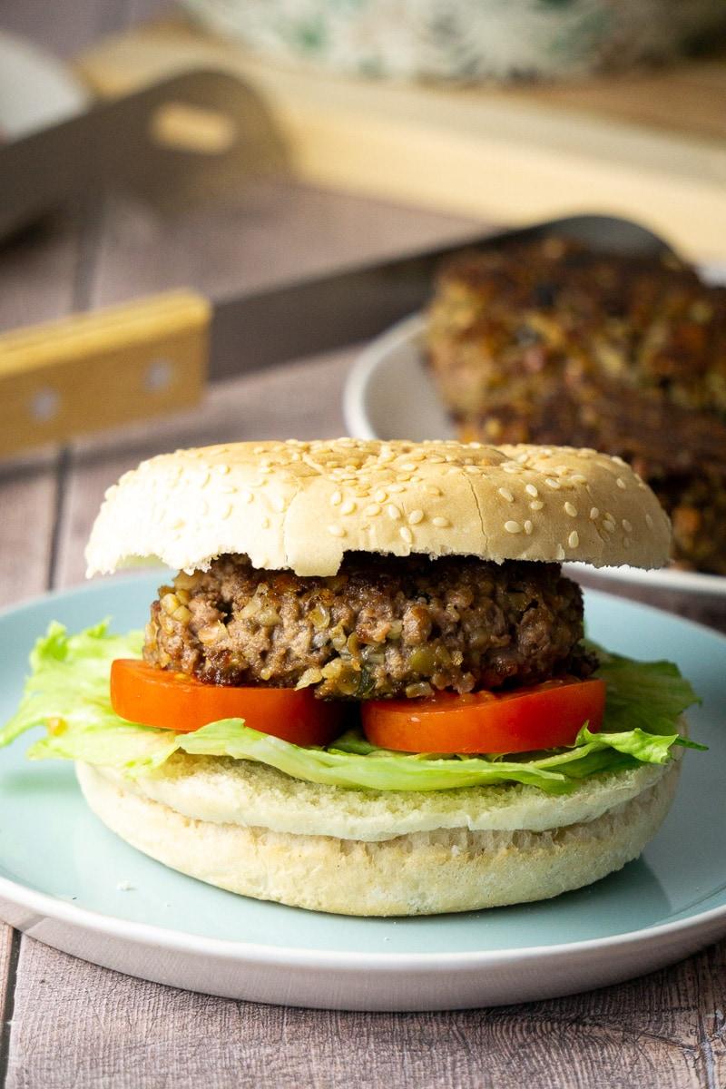 Haggis Burger Recipe