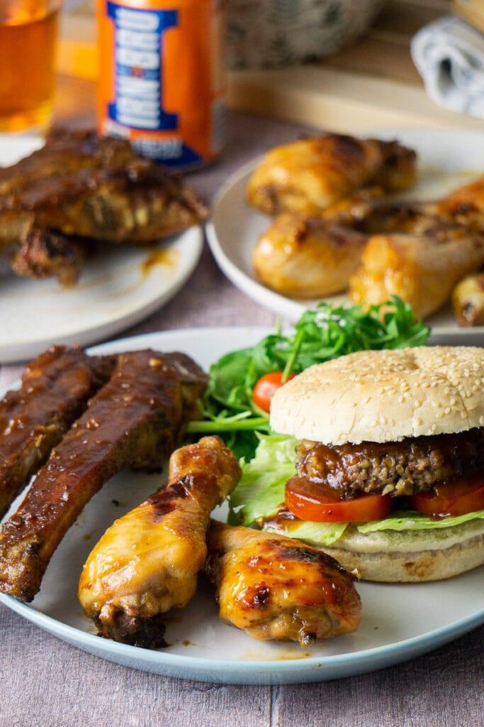 Scottish BBQ Food